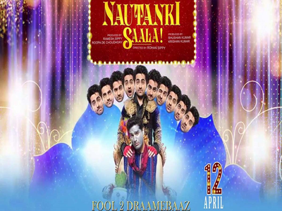 Nautanki Saala Movie Poster