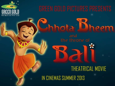 Chhota Bheem and the throne of Bali Movie Poster