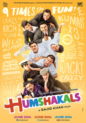 Humshakals Movie Poster
