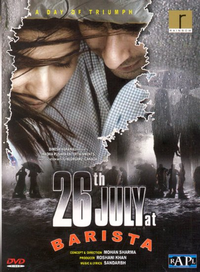 26th July at Barista Movie Poster
