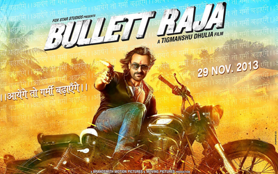 Bullett Raja Movie Poster