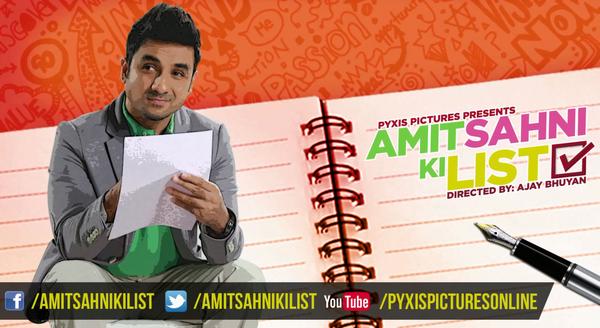 Amit Sahni Ki List Movie Poster