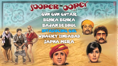Sooper Se Ooper Movie Poster