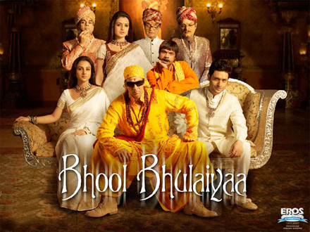 Bhool Bhulaiyaa Movie Poster