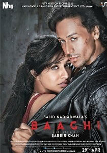 Baaghi (2016) Movie Poster