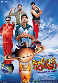 Bad Luck Govind Movie Poster
