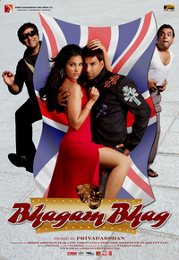 Bhagam Bhaag Movie Poster