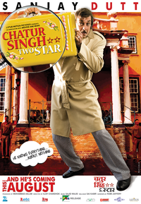 Chatur Singh Two Star Movie Poster