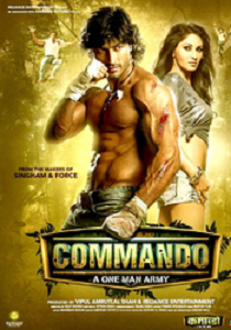 Commando - One Man Army Movie Poster
