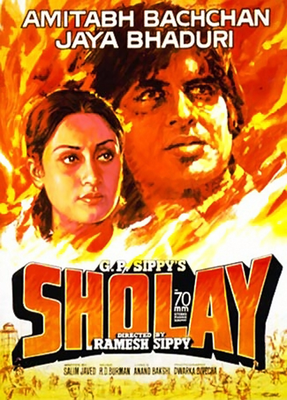Sholay 3D Movie Poster