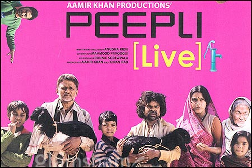 Peepli Live Movie Poster