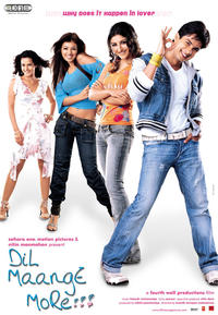 Dil Maange More Movie Poster