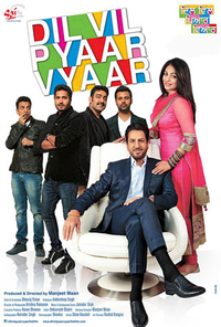 Dil Vil Pyar Vyar Movie Poster