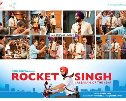 Rocket Singh - Salesman of the Year Movie Poster