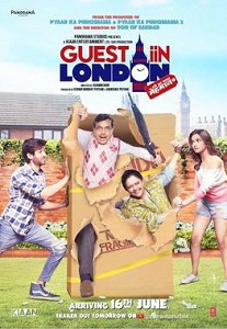 Guest in London Movie Poster