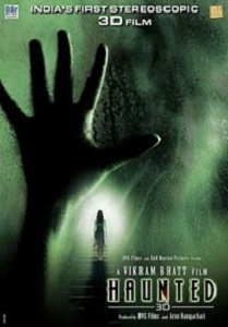 Haunted 3D Movie Poster