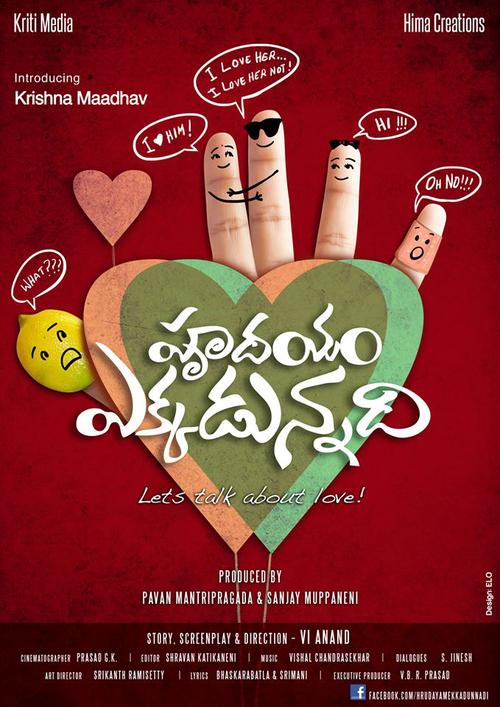 Hrudayam Ekkadunnadi Movie Poster