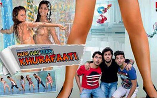 Hum Hai Teen Khurafaati Movie Poster