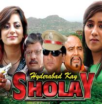 Hyderabad Kay Sholay Movie Poster
