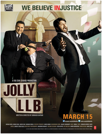 Jolly L.L.B. Movie Poster