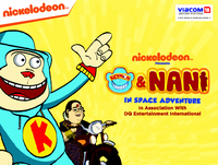 Keymon & Nani in Space Adventure Movie Poster