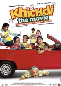 Khichdi - The Movie Poster