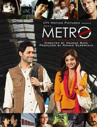 Life in a... Metro Movie Poster