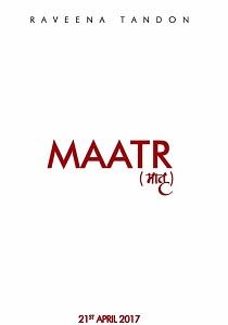 Maatr Movie Poster