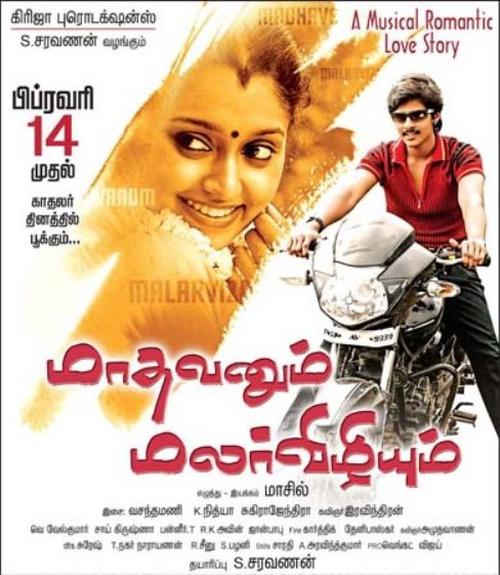 Madhavanum Malarvizhiyum Movie Poster