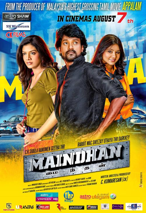 Maindhan Movie Poster