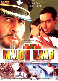 Major Saab Movie Poster