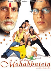 Mohabbatein Movie Poster