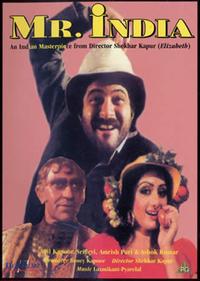 Mr. India Movie Poster