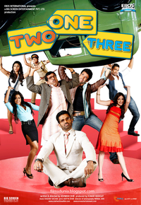 One Two Three Movie Poster