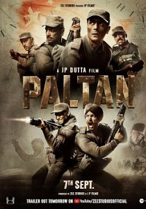 Paltan (2018) Movie Poster