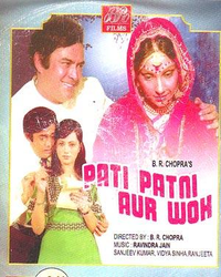 Pati Patni Aur Woh Movie Poster