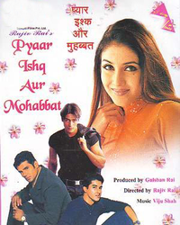 Pyaar Ishq Aur Mohabbat Movie Poster