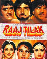 Raaj Tilak Movie Poster