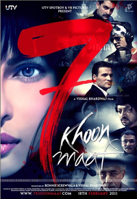 Saat Khoon Maaf Movie Poster