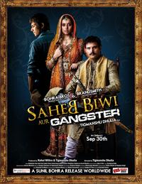 Saheb Biwi Aur Gangster Movie Poster