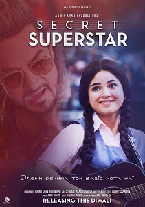 Secret Superstar Movie Poster