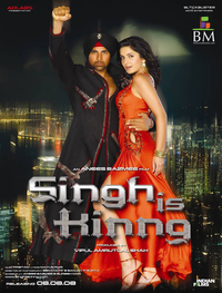 Singh Is Kinng Movie Poster