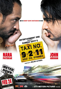 Taxi Number 9211 Movie Poster