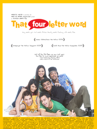 That Four letter Word Movie Poster