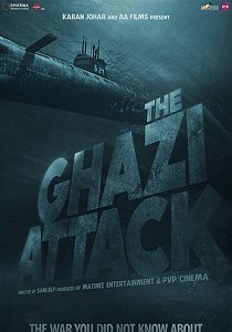 The Ghazi Attack Movie Poster