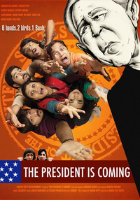 The President Is Coming Movie Poster