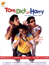 Tom Dick and Harry Movie Poster