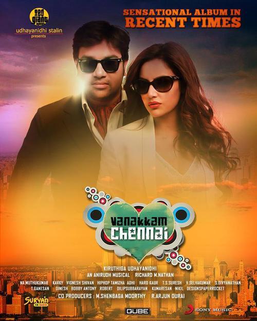 Vanakkam Chennai Movie Poster
