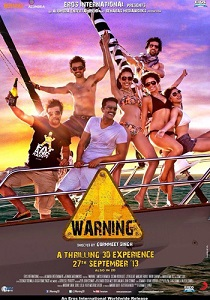 Warning 3D Movie Poster